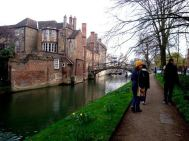 Exploring beautiful Cambridge