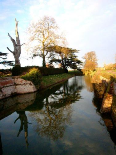 Lake in Kentwell