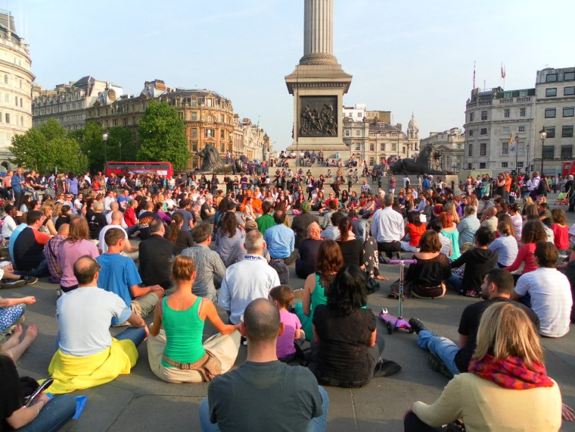 Flash Mob in Trafalgar Square