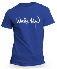 Blue Wake Up T-Shirt