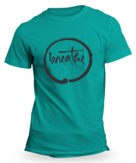 Teal Breathe T-Shirt