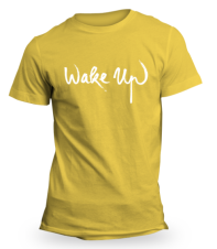 Yellow Wake Up T-Shirt